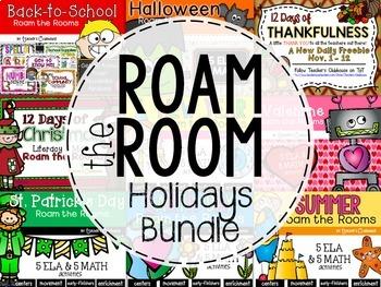 Roam the Room Holiday Bundle Pack
