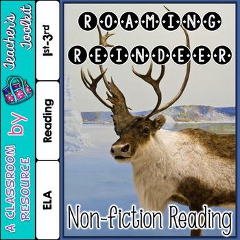 Roaming Reindeer Non-fiction Reading {UK Teaching Resource}