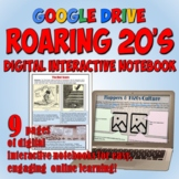 Roaring 20's Google Drive Interactive Notebook