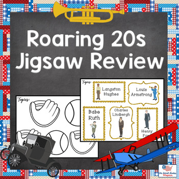 Roaring 20s Jigsaw Review Set