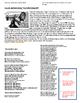 Roaring Twenties/ Harlem Renaissance: Musicians worksheet