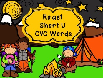 Roast A CvC Word - Short U
