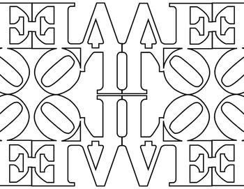 Robert Indiana LOVE Tile Pack