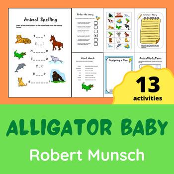 Robert Munsch - Alligator Baby Activity Pack