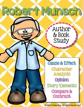 Robert Munsch Author & Book Study {CCSS}