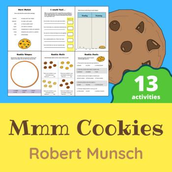 Robert Munsch - Mmm Cookies Activity Pack