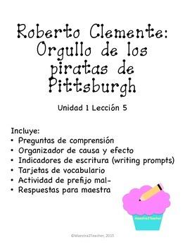 Roberto Clemente: Orgullo de los piratas de Pittsburgh