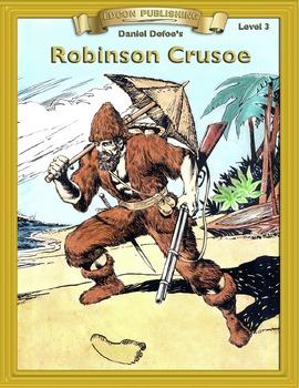 Robinson Crusoe RL3.0-4.0 flip page EPUB for iPads, iPhone