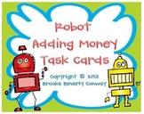Robot Adding Money Task Cards