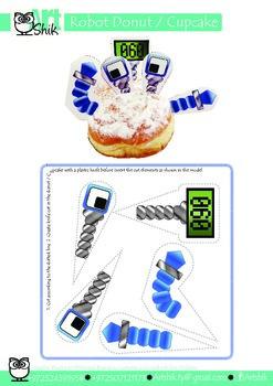 Robot Donut   Cupcake