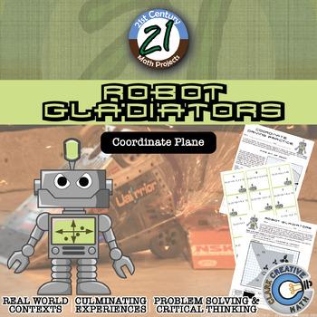 Robot Gladiators -- Coordinates Edition -- Coordinates and