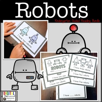 Robot Guided Reading Book - Early Reader FREEBIE