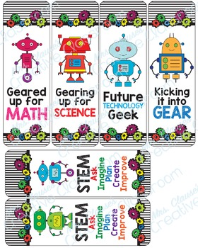 Robot Mega Classroom Pack - STEM - Robotics - Engineering - Gears