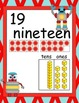 Robot Number Posters with Ten Frames & Base Ten Blocks