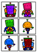 Robot Reading group display charts
