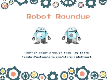 Robot Roundup Number game