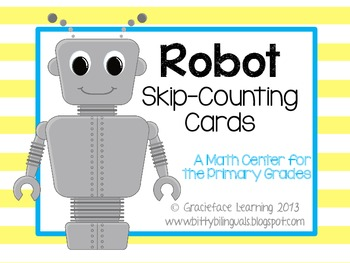 Robot Skip Counting Cards