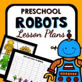 Robot Theme Preschool Classroom Lesson Plans