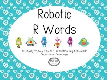 Robotic R Words