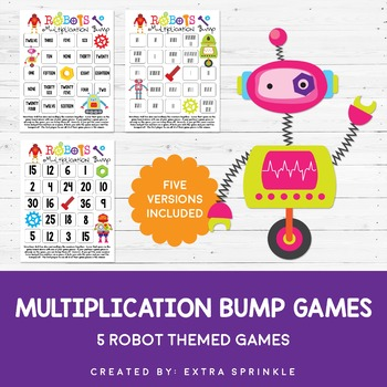 Robots Multiplication Bump Games