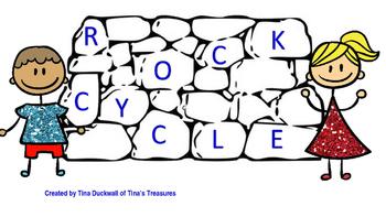 Rock Cycle Interactive Notebook Activity