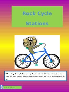 Rock Cycle Station Travel with Differentiated Projects and