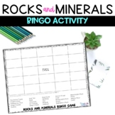 Rock & Minerals Review Game