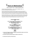 Rock On Wednesdays Poetry Analysis - Have You Ever Seen th