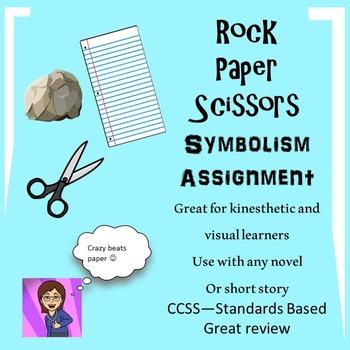 Symbolism Lesson for Any Novel or Short Story:Rock, Paper,