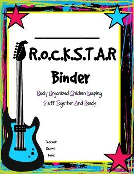 Rock Star Homework Binder