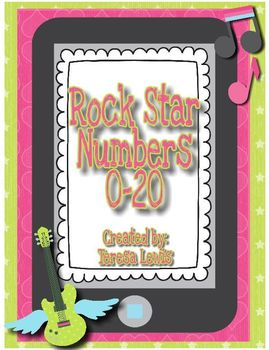 Rock Star Numbers 0-20