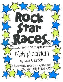 Rock Star Races:  Multiplication
