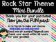 Rock Star Theme Classroom Decor: Build Your Own Mini Bundle