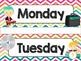 Rock Star Theme Classroom Decor: Days of the Week
