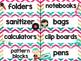 Rock Star Theme Classroom Decor: Supply Labels