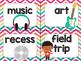 Rock Star Theme Classroom Decor: Where Are We? Sign