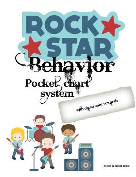 Rock Star Theme Pocket Chart Behavior System
