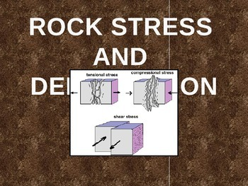 Rock Stress, Folding, and Faulting of the Earth's Surface