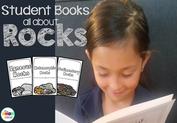 Printable Rock Student Books: Igneous, Sedimentary, and Me