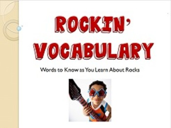 Rock Vocabulary Lesson