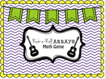 Rock-n-Roll Arrays Math Game