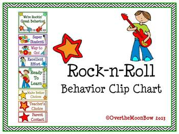 Rock-n-Roll Behavior Clip Chart