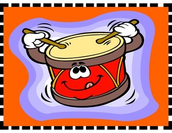 Drum for Rock-n-Roll Classroom Theme