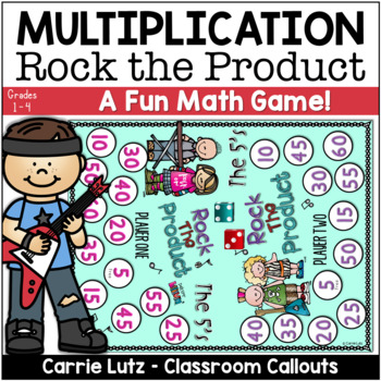 Rock the Product {A Cool Multiplication Game}
