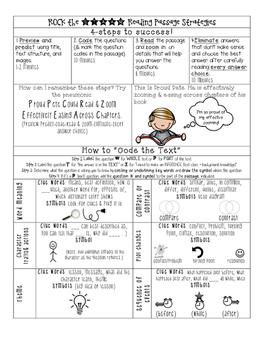 Rock the STAAR Reading Test Passage Strategies