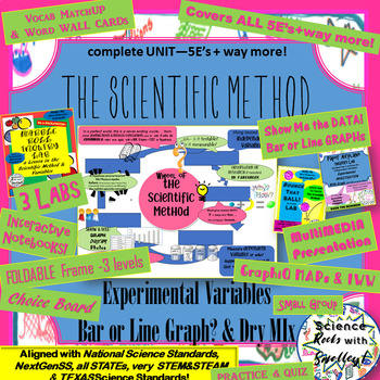 Rock the Scientific Method & Variables SUPER SET
