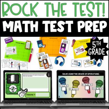 5th Grade Math Test Prep Centers {Rock the Test}