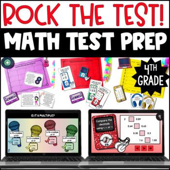 4th Grade Math Test Prep Centers {Rock the Test}