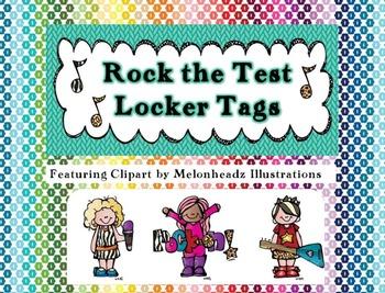 Rock the Test Locker Tag