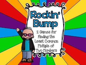 Rockin' Bump-Three Games for Finding the Least Common Mult
